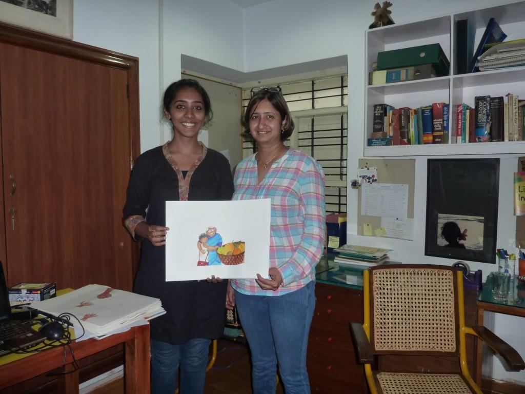 Meet the illustrator for Balu's Basket